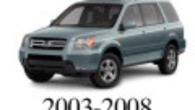 Honda Pilot 2002 2003 2004 Service Workshop Manual