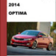 Kia Optima 2014 Repair Service Factory Manual - Workshop Repair