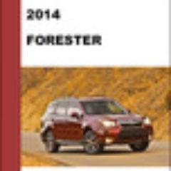 2014 Subaru Forester Workshop Service Repair Manual Download