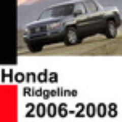 Honda Ridgeline 2006 2007 2008 Workshop Service Repair Manual