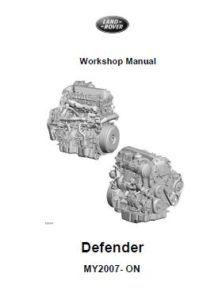 Land Rover Defender 2007 Workshop Manual WSM-8935