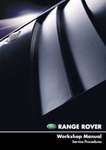Range Rover L322 MY02 Workshop Service Repair Manual