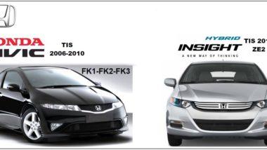 Honda Civic FK1-2-3 TIS 2006-2010 & Insight Tis Workshop Service Repair Manual