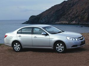 Chevrolet Epica 2006-2011 Workshop Service Manual