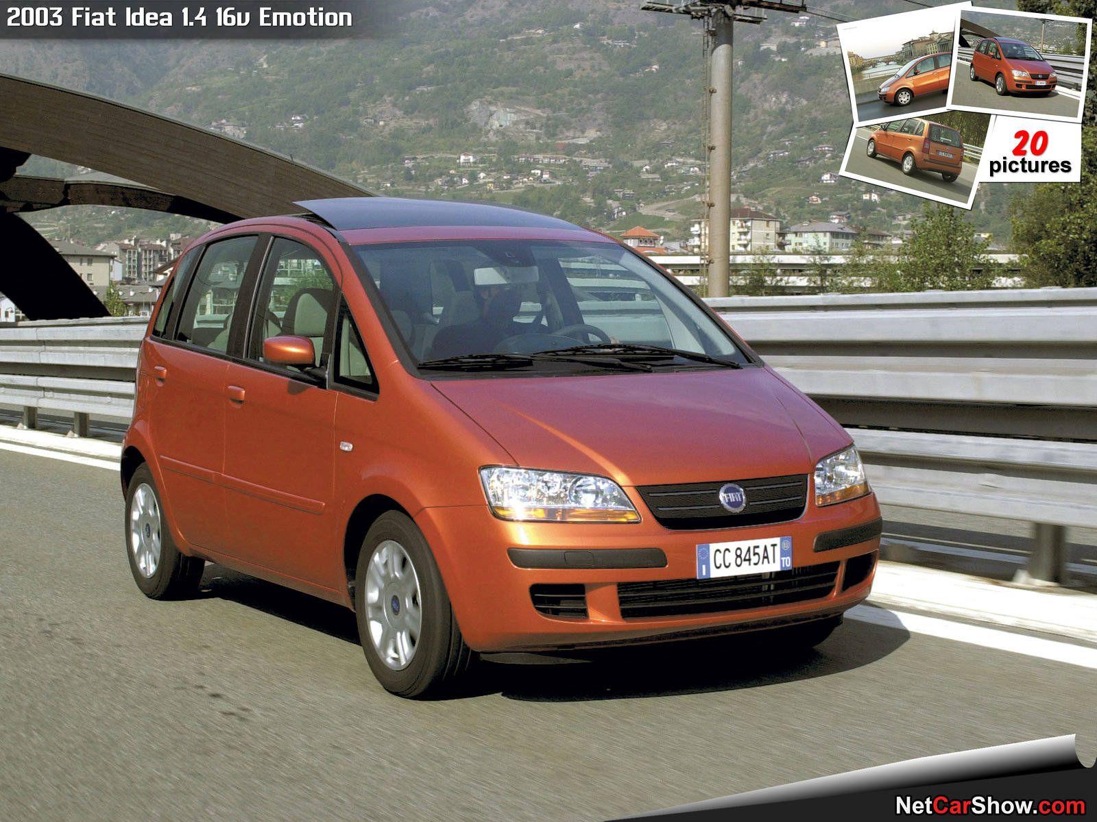 FIAT IDEA 1.4 16V 2003-2012 Workshop Service Repair Manual