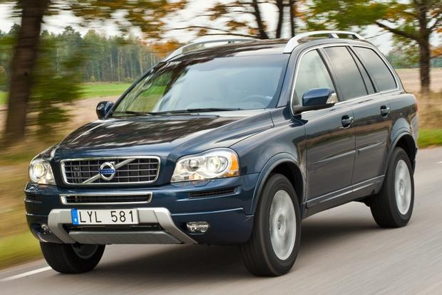 Volvo XC90 2013-2014 Electrical Wiring Diagrams